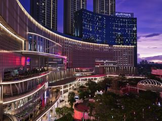 Hotel Façade - Night  View