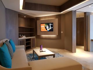 Business Suite with 1 King Size Bed - Living Room